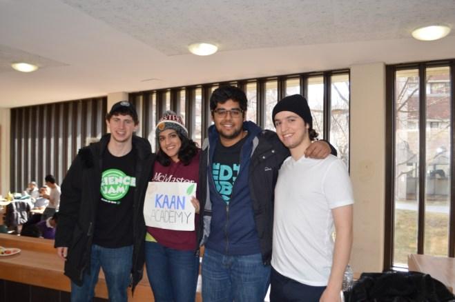 Kaan Academy representing McMaster University