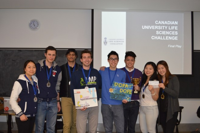 An exciting final round between two University of Toronto teams!