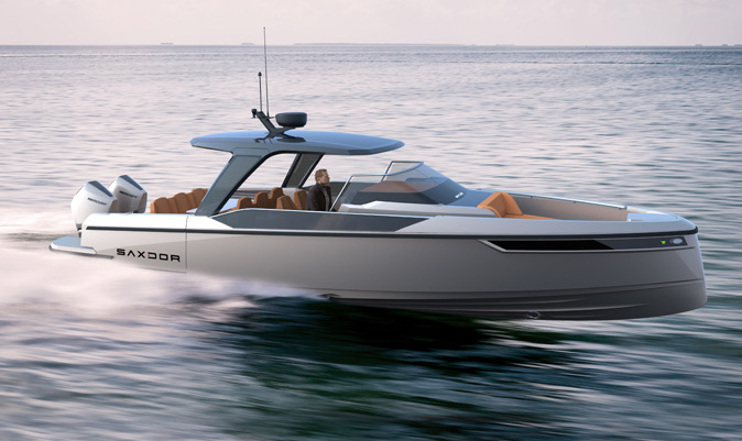 SAXDOR, A SPORTS BOAT WITH THE SOUL OF A WATER MOTORCYCLE