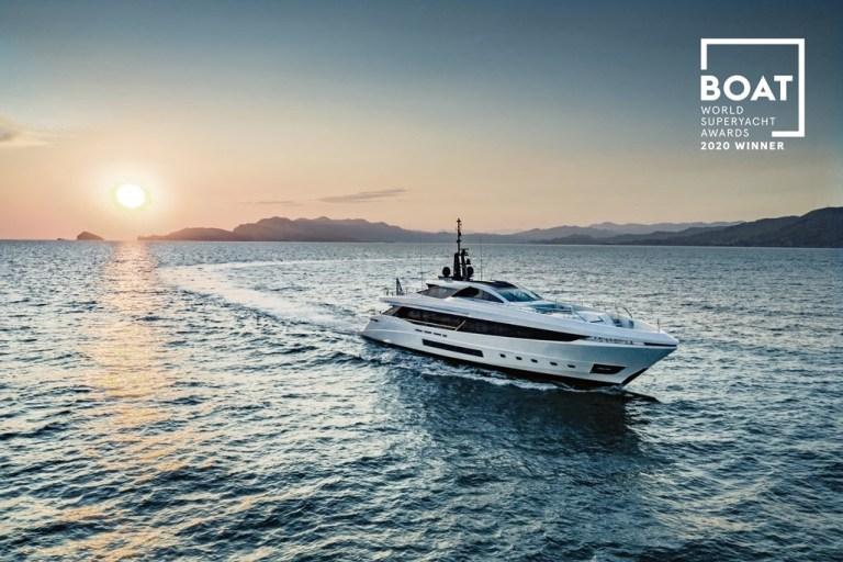 Mangusta GranSport 45 triumphed at the World Superyacht Awards 2020