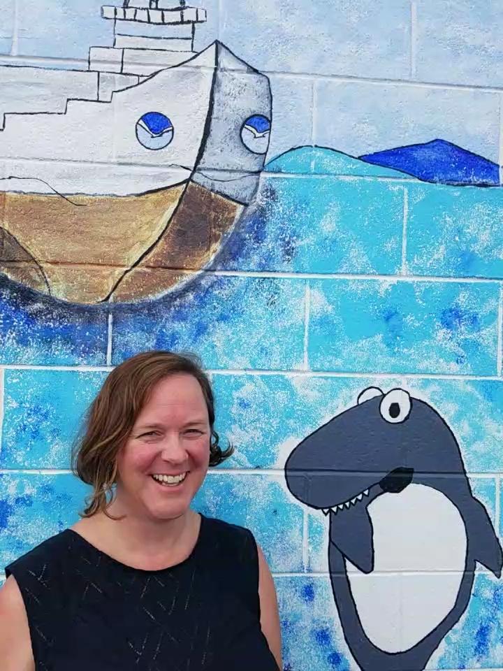 Erin Weller, a data manager for Coast Survey.