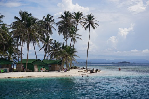 One of our favourite islands in San Blas