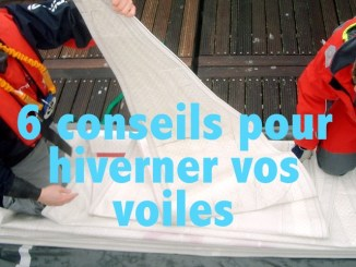 conseil hiverner voiles hivernage nettoyage voilier