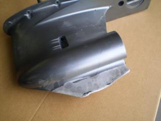 réparer un aileron d'embase cassé