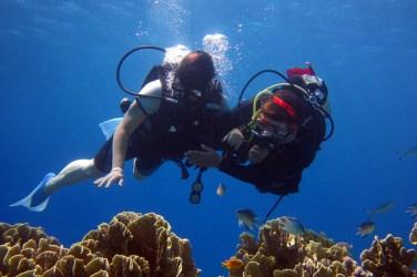 Pratiquer la plongée sous-marine benefique