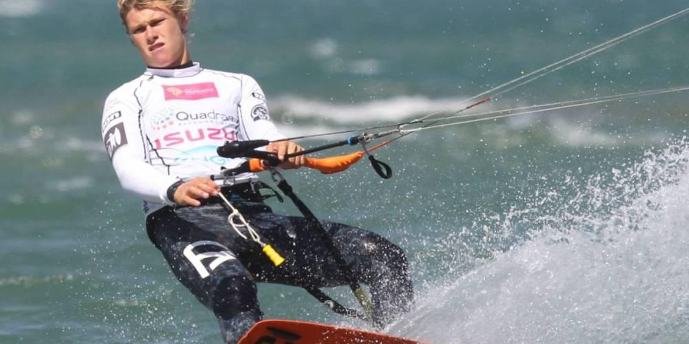 Whaley lidera el mundial de Kitesurf 2017