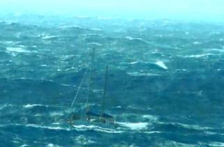 """""""La última aventura del Gandul"""" La travesía y  naufragio en aguas del Atlántico."""