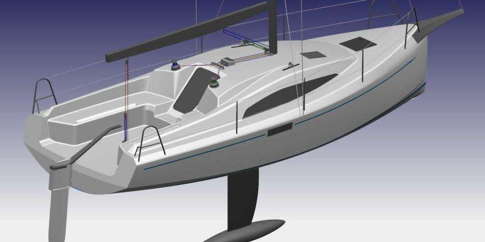 B-Z  Nuevo 27´ Crucero/ Regata
