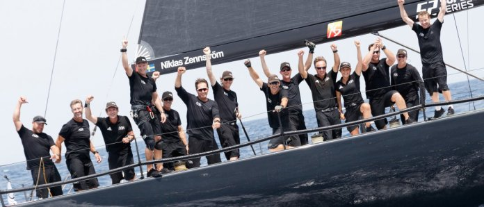 52 SUPER SERIES Rán se lleva la regata