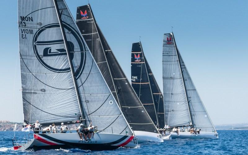 Melges 40 Grand Prix en Porto Cervo. Triunfo para Stig.
