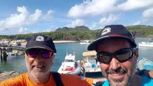 De Italia a Brasil , cruzando el Atlántico en Bote