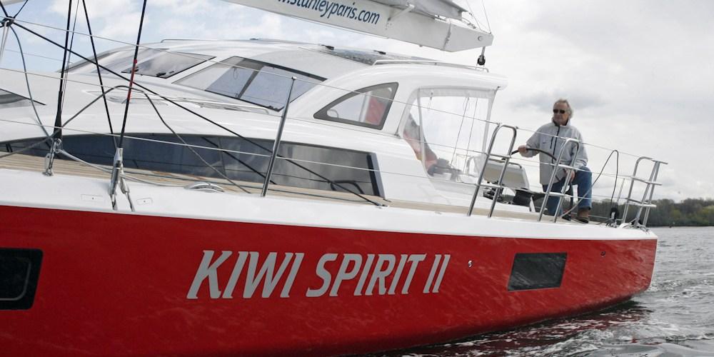 KIWI SPIRIT II Stanley París, la vuelta al mundo a los 80 años