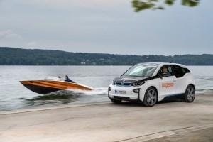 El BMW i3 en la lancha Torqeedo Deep Blue