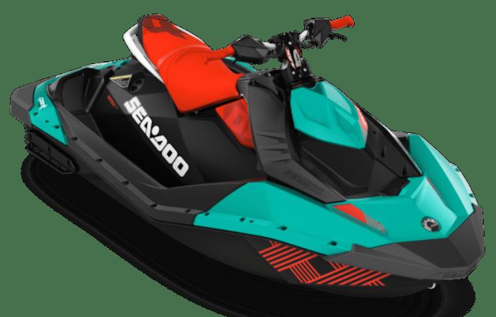 Sea-Doo iBR , con sistema de freno y marcha atrás