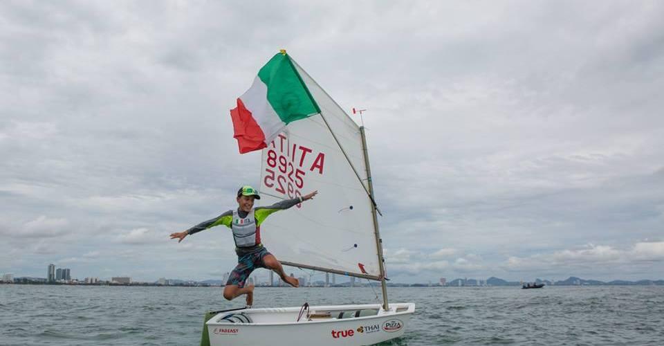 Mundial de Optimist Tailandia para el italiano Marco Gardoni.