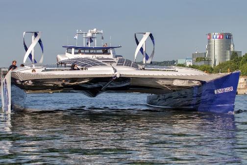 Barco a hidrógeno para vuelta al mundo