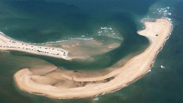 Nueva isla aparecio misteriosamente cerca del Triángulo de las Bermudas.
