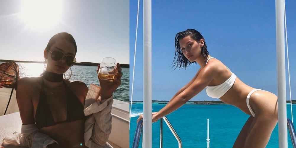 Kendall Jenner / Bella Hadid- CELEBRITIES ON YACHTS