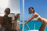 Kendall Jenner / Bella Hadid- CELEBRITIES ON YACHTS