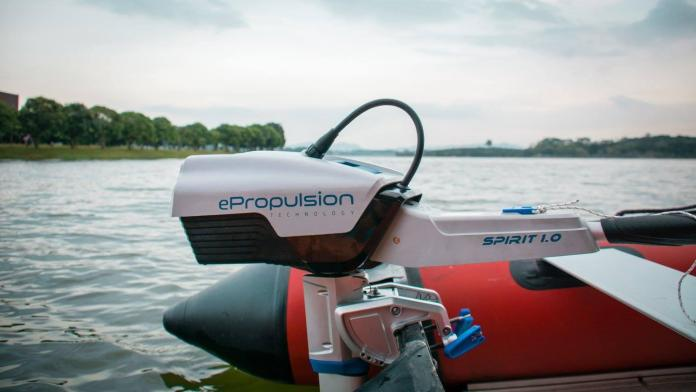ePropulsion Motor eléctrico fueraborda