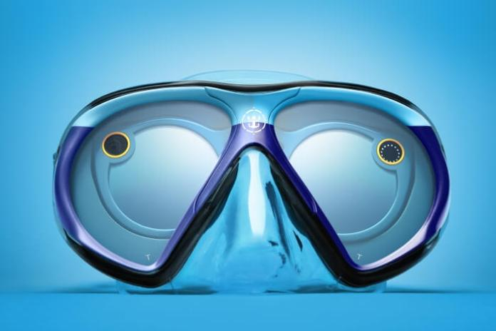 SeaSeeker, la máscara de buceo que permite grabar