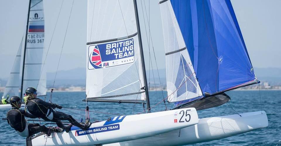 Mundial de Nacra 17. Triunfo para los ingleses Ben Saxton y Katie Dabson.