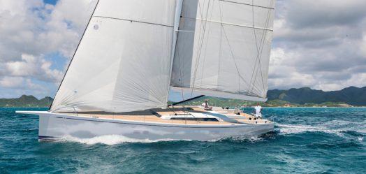 Swan 65 , nuevo diseño German Frers
