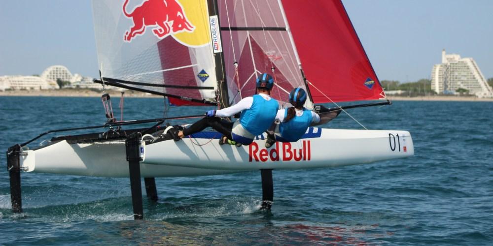 Mundial de Nacra 17 Francia, día 3. Santiago Lange/ Cecilia Carranza al sexto lugar.