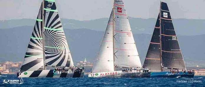 52 super series sailing week