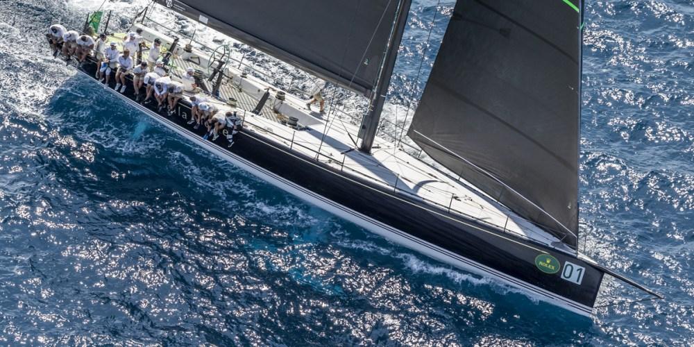Maxi Yacht Rolex Cup, un dia de sorpresas