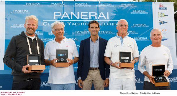 XIV Copa del Rey Panerai, entrega de premios.
