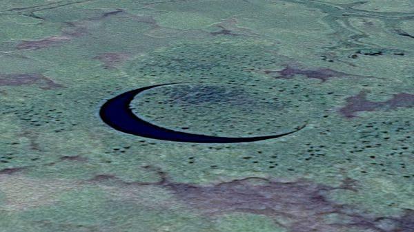 El Ojo: la isla circular que se mueve sola en el Delta del Paraná