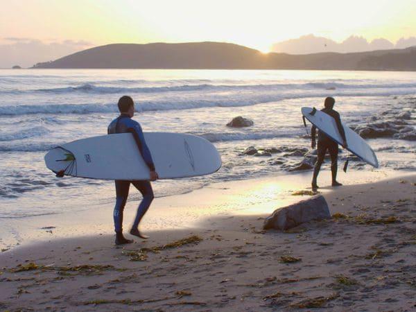 El surf terapia para veteranos
