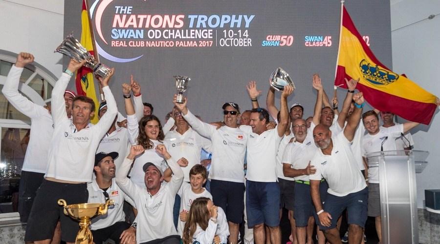 España gana el Nation Trophy 2017.