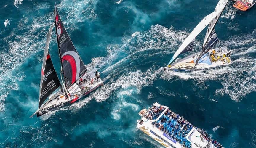Alicante despide la flota Volvo Ocean Race