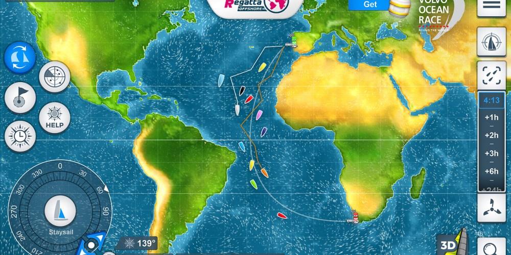 Volvo Ocean Race con Virtual Regatta