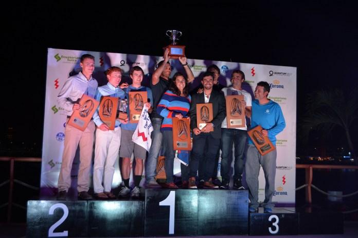 Mundial de Lightning para el equipo argentino de Javier Conte, Julio Alsogaray y Paula Salerno