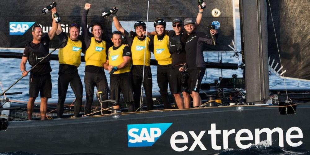 SAP Extreme Sailing Series gana la temporada de Extreme Sailing Series™ 2017
