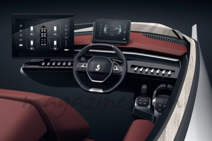 Peugeot y Bénéteau presentan el Sea Drive Concept