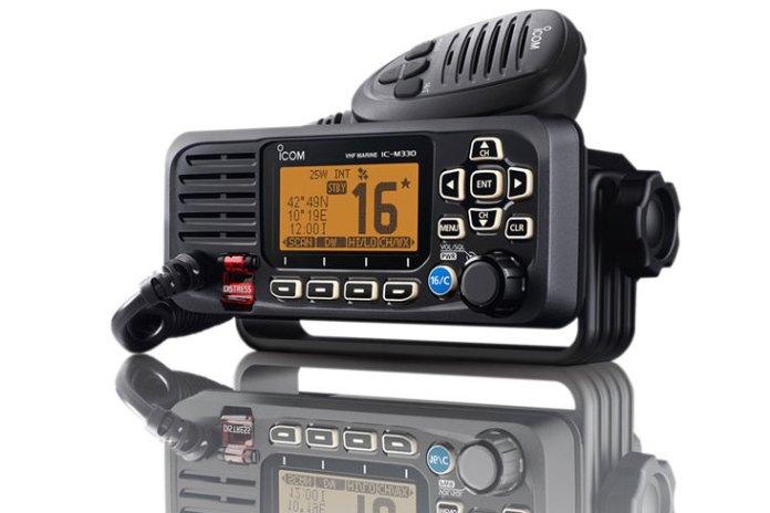 Icom IC-M330E, un VHF fijo en una caja de tamaño mini