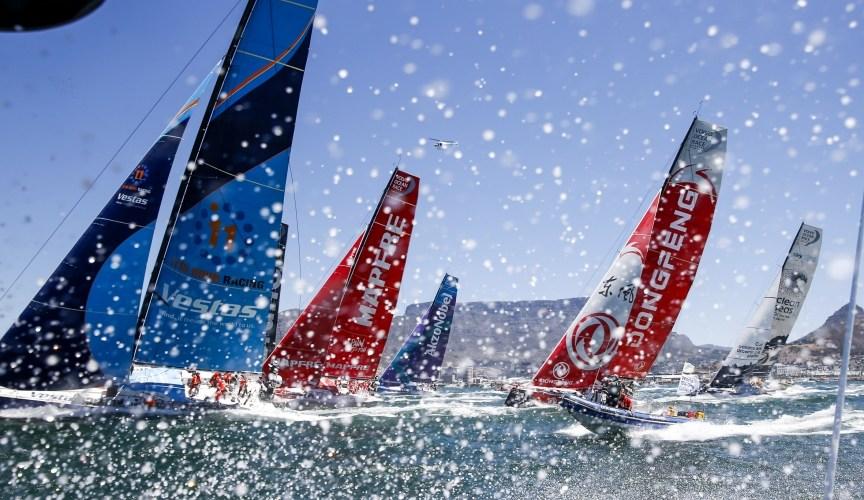 Volvo Ocean Race.MAPFRE líder desde Ciudad del Cabo