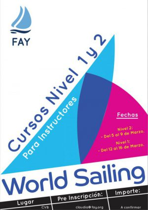 CURSOS DE LA WORLD SAILING