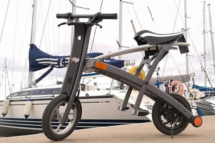 Stigo, el diseño y divertido scooter eléctrico que alcanza los 25 km / h