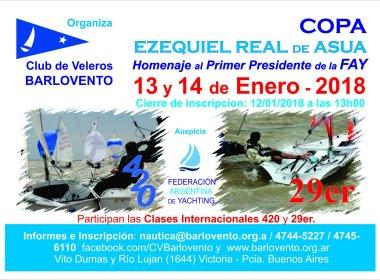 """COPA """"EZEQUIEL REAL DE AZUA"""" – 13 Y 14 DE ENERO"""