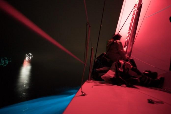 Volvo Ocean Race . Scallywag se pone lider.
