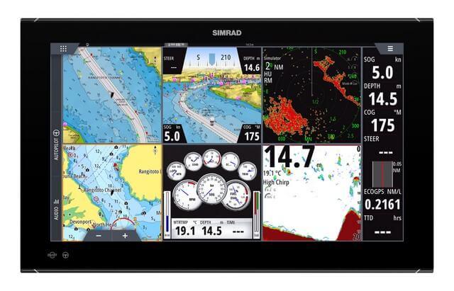 Sistema de Navegación SIMRAD NSO evo3