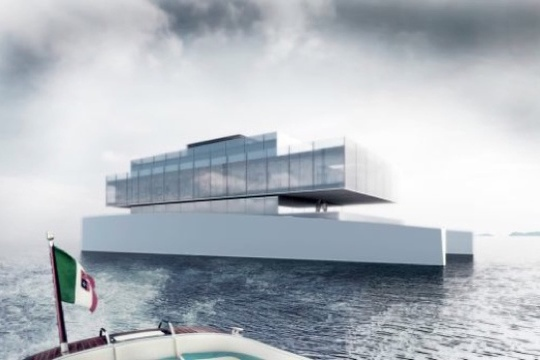 The Glass, un palacio flotante transparente