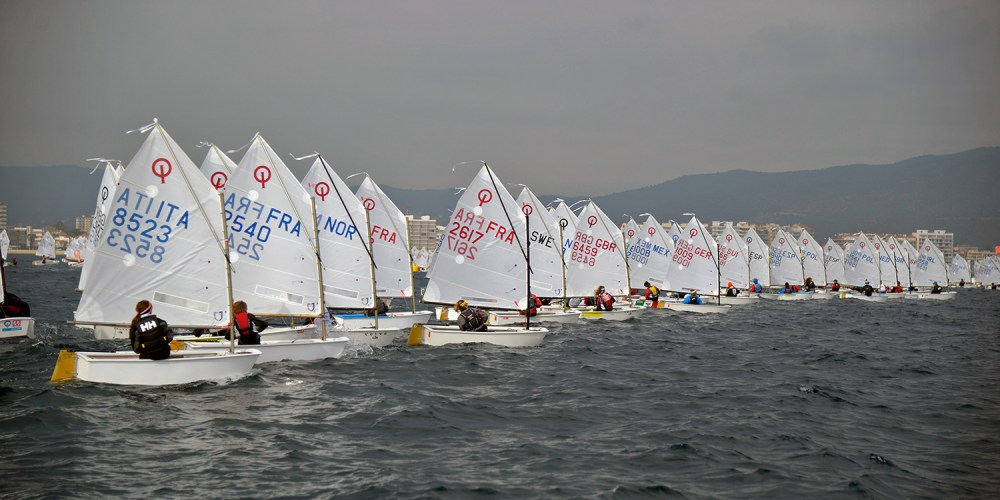 Palamós Optimist Trophy-Nations Cup, jornada sin regatas