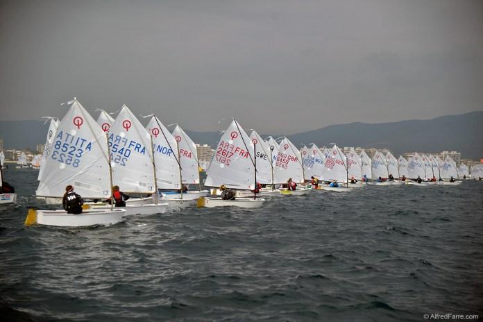 Palamós Optimist Trophy-Nations Cup, jornada sin regatas