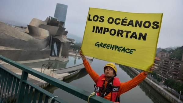 Greenpeace exige un giro energético